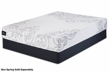 Armstrong White Fabric Queen Size Memory_Foam Mattress