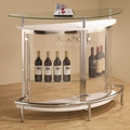 White Glass Bar Unit