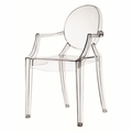 Clear Metal Chair