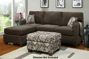 Yann Dark Grey Sectional Sofa