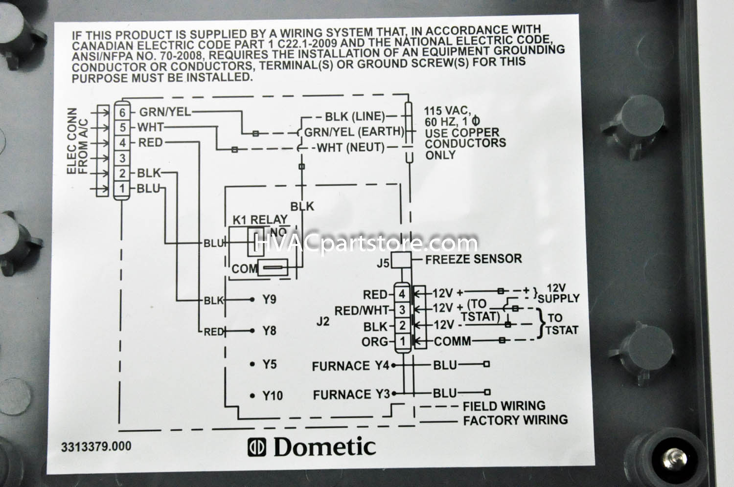 dometic rv thermostat wiring diagram dometic rv thermostat duo therm thermostat wiring diagram duo therm ac wiring diagram