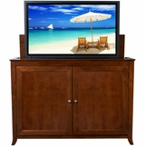 Berkeley Cherry TV Lift Cabinet