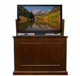 Elevate Espresso Finish TV Lift Cabinet