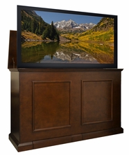 "Grand Elevate Espresso TV Lift Cabinet - <font color=""red""><b><i>NEW!</b></i></font>"