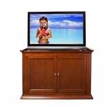 Highland Dark Cherry TV Lift Cabinet