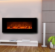 Onyx Electric Fireplace - Black