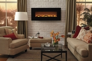 The Onyx� Touchstone's Electric Fireplace in Black