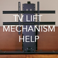 Service and Support for Whisper Lift II TV Lift Mechanisms