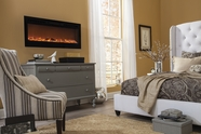 The Sideline� Touchstone's Recessed Electric Fireplace in Black