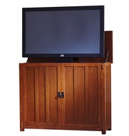 The Elevate™ Mission TV Lift Cabinet