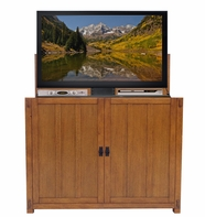 The Elevate� Mission TV Lift Cabinet