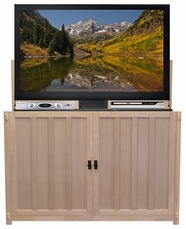 The Grand Elevate� Mission <br>Unfinished TV Lift Cabinet