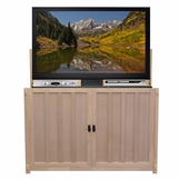 The Grand Elevate™ Mission <br>Unfinished TV Lift Cabinet, 9 available finishes
