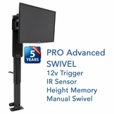 The Whisper Lift™ II PRO Advanced Swivel TV Lift Mechanism