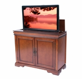 Tremont Brandy Finish TV Lift Cabinet