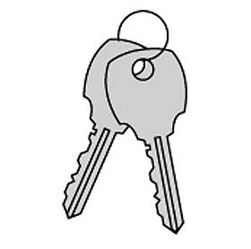 ADDITIONAL KEY FOR BRASS MAILBOXES