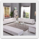 Flash Furniture Imagination Modular Reception Series in White<br><font color = blue>20 Pre-Configured Sets Available: Add-On or Create Your Own!</font>