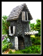 Fairy Hideaway Tree Trunk House