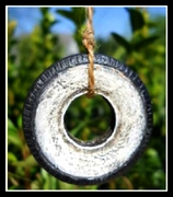 Fairy Tire To Swing From A Tiny Tree