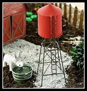 Miniature Gardens Water Tower