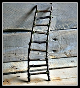 Rustic Fairy Ladder