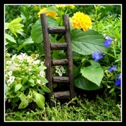 Wood  Ladder for Fairy Gardens