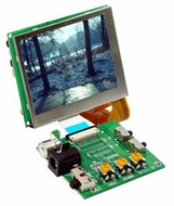 "Accele Custom (LCD25L) 2.5"" TFT LCD Screen Monitor"