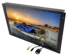 "Accele Custom (LCDMC22WX) 22"" Wide Screen Flush Mount, TFT Active Matrix Color LCD Monitor"