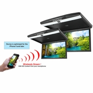 "AcceleVision (AXFD102HDWF) 10.2"" HDMI Roof Mount Monitor w/WiFi Streaming"