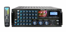 Acesonic (KJV-835) 400 Watt Mixing Amplifier with Built-In LCD Monitor and Recorder with MP3+G Playback