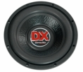 "American Bass (DX-12) 500W Max, 12"" SVC 4 Ohm DX Series Subwoofer"