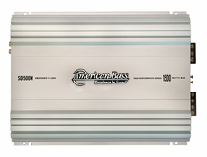 American Bass (SQ-1500M) 1500 Watt Mono Block, 1 Ohm Stable Amplifier
