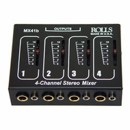AmpliVox (S1350) Four Channel Microphone Mixer