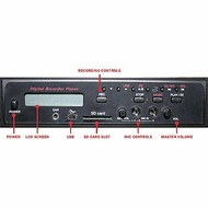 AmpliVox (S9160) Sound Systems Digital MP3 and Wave File Recorder/ Player