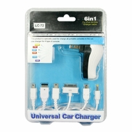 Aoko (TC-6IN1) 6 In 1 Travel Charger (3GS, IPOD, NDSL, PSP, NDS, NDSI & USB Charger)