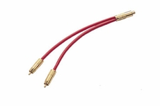 "Audio 2000 (ADC2121) 12"", 6mm A/V Cable 1 X Gold-Plated RCA Jack"