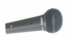 Audio 2000 (ADM1064B-L) Black Metal Value Microphone With 16 Foot