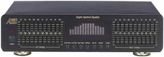 Audio 2000 (AEQ8110S) Dual 10-Band Graphic Equalizer with a Spectrum Display