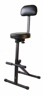 """Audio 2000 (AST4201) Video Projector / TV Monitor Foam Padded Seat with Adjustable Height 21.0"""" - 30.5"""" (5 Positions)"""