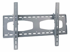 Audio 2000 (AST420G) Flat Panel TV/ Monitor Wall Mount with up to 10 Degree Downward Tilt Angles (Silver)