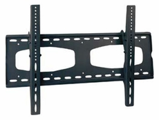 Audio 2000 (AST420GB) Flat Panel TV/ Monitor Wall Mount with up to 10 Degree Downward Tilt Angles (Black)