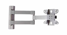 Audio 2000 (AST420J) Flat Panel TV/ Monitor Swivel Wall Mount (Silver)