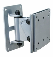 Audio 2000 (AST420M) Flat Panel TV/ Monitor Swivel Wall Mount with up to 20 Degree Tilt Angle (Silver)