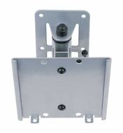 Audio 2000 (AST420N) Flat Panel TV/ Monitor Swivel Wall Mount with up to 20 Degree Tilt Angle (Silver)