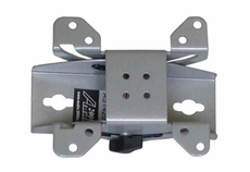 Audio 2000 (AST420R) Flat Panel TV/ Monitor 90 Degree Swivel Wall Mount with +/ -15 Degree Tilt Angle (Silver)
