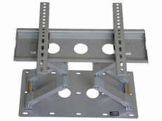 Audio 2000 (AST420V) Flat Panel TV/ Monitor Wall Mount with +/ -15 Degree Tilt Angle and +/ -120 Degree Swivel Angle (Silver)