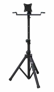 Audio 2000 (AST420Y) Flat Panel TV/ Monitor Stand with Foldable Tripod Legs