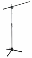 Audio 2000 (AST4322B) Floor Tripod Microphone Stand with Boom (Black)