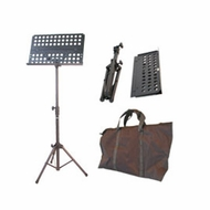 Audio 2000 (AST4381) Portable Metal Sheet Music Stand with Carrying Bag (for Orchestra)