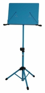 Audio 2000 (AST4384BL) Premium Heavy-Duty Sheet Music Stand, Blue (for Orchestra)